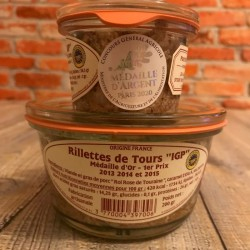 Rillettes de Tours IGP